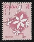 Sellos del Mundo : America : Cuba :  Azucena