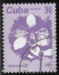 Sellos del Mundo : America : Cuba :  Orquidea