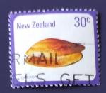 Sellos de Oceania - Nueva Zelanda -  Moluscos
