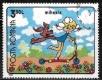 Sellos del Mundo : Europa : Rumania : Dibujos animados - Micaela