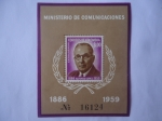 Sellos del Mundo : America : Colombia : Ministerio de Comunicaciones-Emisión de Lujo-Alfonso López Pumarejo (18861959) 75°Aniv de su Nacimie