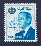 Sellos del Mundo : Africa : Marruecos :  Hassan II