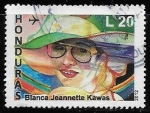 Sellos del Mundo : America : Honduras :  Blanca Jeannette Kawas Fernández (1946-1995)