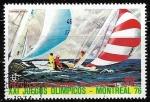 Sellos del Mundo : Africa : Guinea_Ecuatorial : Juegos Olimpicos de Vela Montreal 1976