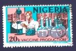 Sellos del Mundo : Africa : Nigeria :  RESERVADO FRANCISCO DEL AMO