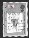 Sellos del Mundo : Europa : Reino_Unido :  595 - Investidura del Príncipe Carlos como Príncipe de Wales