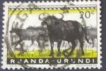 Sellos del Mundo : Africa : Rwanda :  Fauna silvestre