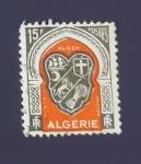 Sellos de Africa - Argelia -  RESERVADO FRANCISCO DEL AMO