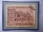 Sellos de America - Argentina -  12-X-1963 Transmisión del Mando- Edicio:Casa Rosada sede del Poder Ejecutivo.
