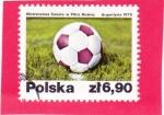 Sellos del Mundo : Europa : Polonia : Balón de fútbol