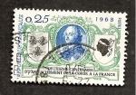sello : Europa : Francia : RESERVADO DAVID MERINO