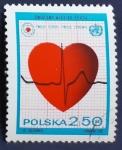 Sellos del Mundo : Europa : Polonia : Corazon