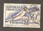 Sellos del Mundo : Europa : Francia :  RESERVADO MIGUEL ANGEL SANCHO