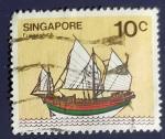 Sellos de Asia - Singapur -  RESERVADO JAVIER AVILA