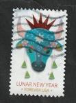 Sellos del Mundo : America : Estados_Unidos : Año Lunar Chino