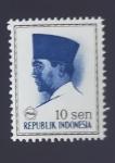 Sellos de Asia - Indonesia -  Sukarno