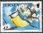 Sellos de Europa - Isla de Jersey -  aves