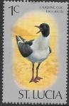 Sellos de America - Santa Lucia -  aves