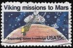 Sellos de America - Estados Unidos -  espacio