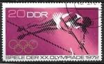 Sellos del Mundo : Europa : Alemania :  Juegos Olimpicos de Verano - Munich 1972 - Salto de Pertiga