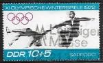 Sellos del Mundo : Europa : Alemania :  Juegos Olimpicos de Invierno - Sapporo 1972 - Patinaje Artistico