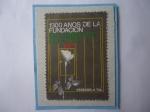 Sellos del Mundo : America : Venezuela : 1300 años de la Fundación del Estado de Bulgaria