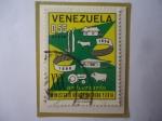 Sellos del Mundo : America : Venezuela : XXX Aniversario del Ministerio de Agricultura y Cria (1936-1966) - Emblema.