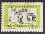 Sellos de America - Argentina -  Capilla de Candonga. Cordoba