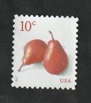 Sellos de America - Estados Unidos -  5005 - Peras rojas