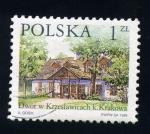 Sellos de Europa - Polonia -  serie- Casas de Polonia