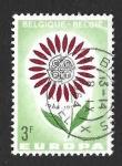 Sellos del Mundo : Europa : Bélgica : 614 - Flor (EUROPA CEPT)
