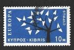 Sellos del Mundo : Asia : Chipre : 219 - Árbol (EUROPA CEPT)