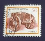 Sellos de Asia - Corea del sur -  Carro