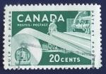 Sellos de America - Canadá -  Industria papelera