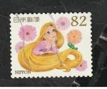 Sellos del Mundo : Asia : Japón :  7340 - Rapunzel