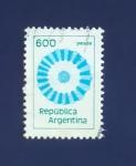 Sellos de America - Argentina -  RESERVADO FRANCISCO DEL AMO
