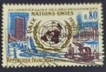 Sellos de Europa - Francia -  RESERVADO JORGE GOMEZ R