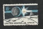 Sellos del Mundo : America : Estados_Unidos : 931 - 10 años de ensayos espaciales