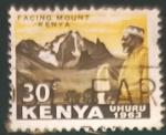 Sellos de Africa - Kenya -  Paisajes