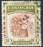 Sellos de America - Colombia -  RESERVADO JAVIER AVILA