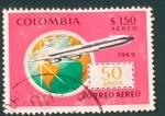 Sellos de America - Colombia -  RESERVADO DAVID MERINO