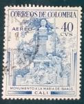 Sellos de America - Colombia -  RESERVADO FRANCISCO DEL AMO