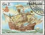 Sellos del Mundo : America : Paraguay :  Barcos Antiguos de la Armada Española
