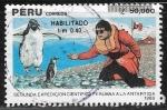 Sellos del Mundo : America : Perú :  Segunda Expedicion Cientifica Peruana a la Antartida