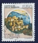 Sellos de Europa - Italia -  Castillos