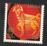 Sellos del Mundo : America : Canadá :  3451 - Año lunar chino, Perro