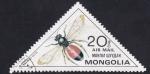 Sellos del Mundo : Asia : Mongolia :  Andrena scita