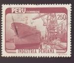 sello : America : Perú : Industrias