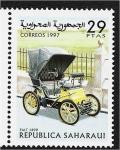 Sellos del Mundo : Africa : Marruecos : Carros, Fiat 1899