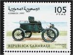 Sellos del Mundo : Africa : Marruecos : Carros, Oldsmobile 1902